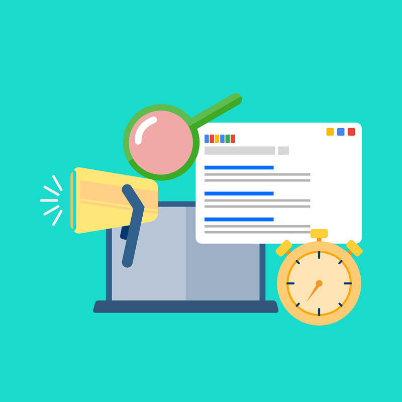 Graphic representing digital advertising